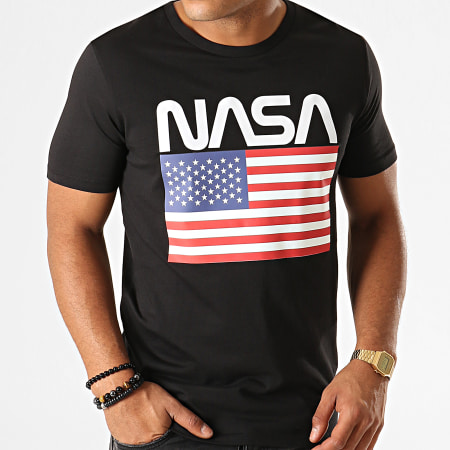 NASA - Tee Shirt Giga Noir