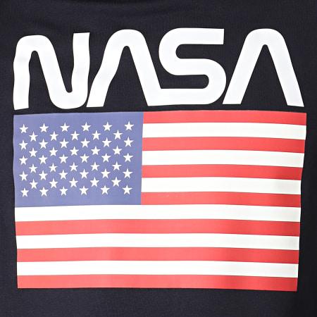 NASA - Sweat Capuche Giga Bleu Marine
