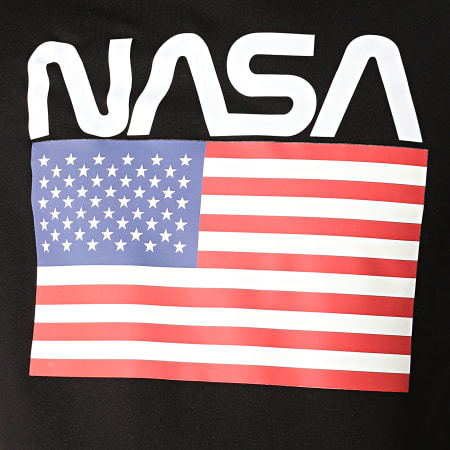 NASA - Sweat Capuche Giga Noir
