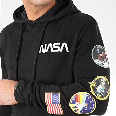 NASA - Sweat Capuche Giga Back Noir