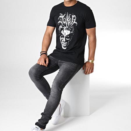 Batman - Tee Shirt Death Metal Joker Noir
