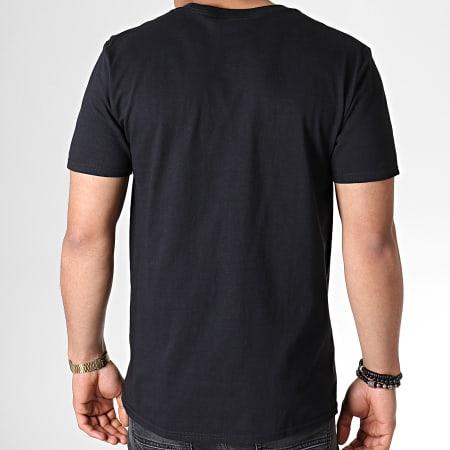Batman - Tee Shirt Flames Logo Noir