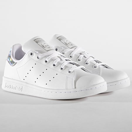 +mel 1er juin adidas - Baskets Femme Stan Smith J EE8483 Footwear White