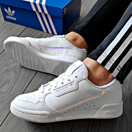 adidas - Baskets Femme Continental 80 EE6471 Footwear White ...