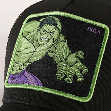 Hulk - Casquette Trucker Hulk Noir Vert