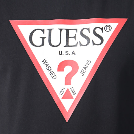Guess - Sweat Crewneck M93Q22K6ZS0 Noir
