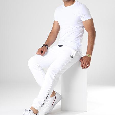 Sergio Tacchini - Pantalon Jogging Zeno 37636 Blanc