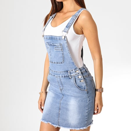 Girls Only Robe Salopette Femme 585 Bleu Denim Laboutiqueofficielle Com