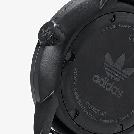 adidas - Montre District M1 Z042341 All Black Gunmetal