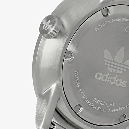 adidas - Montre District M1 Z041920 All Silver
