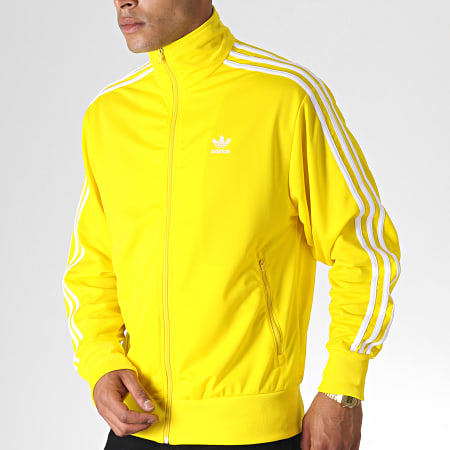 veste adidas hommes jaune