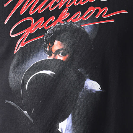 Music Nation - Tee Shirt Michael Jackson MC436 Noir