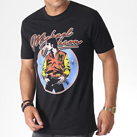 Music Nation - Tee Shirt Michael Jackson MC449 Noir