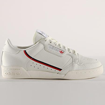 adidas Baskets Continental 80 B41680 Beige Off White