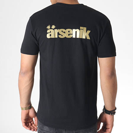 Ärsenik - Tee Shirt A Noir Doré