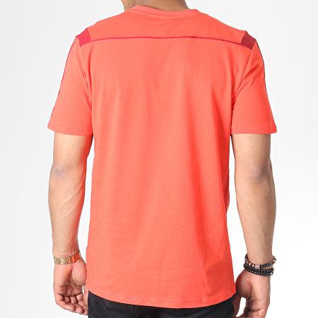 adidas - Tee Shirt A Bandes FC Bayern DX9188 Orange Bordeaux