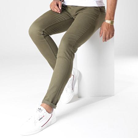 Blend - Pantalon Chino 20703472 Vert Kaki