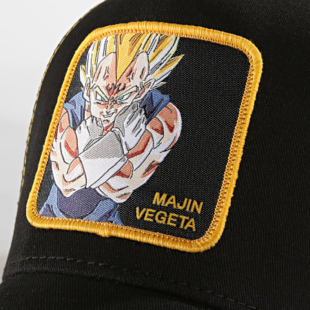 Dragon Ball Z - Casquette Trucker Majin Vegeta Noir