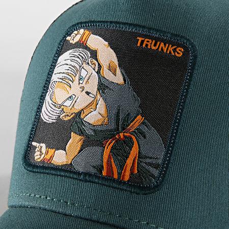 Dragon Ball Z - Casquette Trucker Trunks Bleu Marine Noir