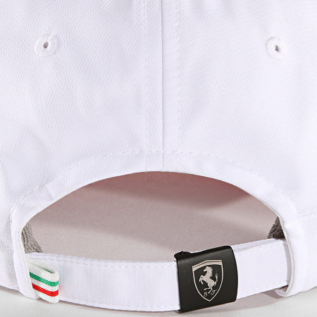 Scuderia Ferrari - Casquette Quilted Ferrari Blanc