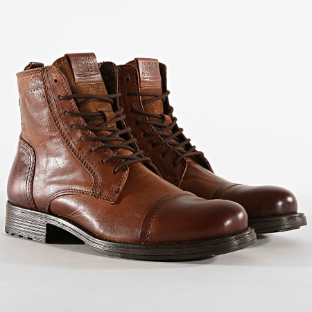 Jack And Jones - Bottes Russel 12156000 Marron