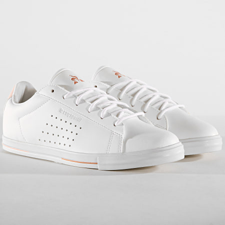 Le Coq Sportif - Baskets Femme Agate Boutique Premium 1920237 Optical White Cloud Pink