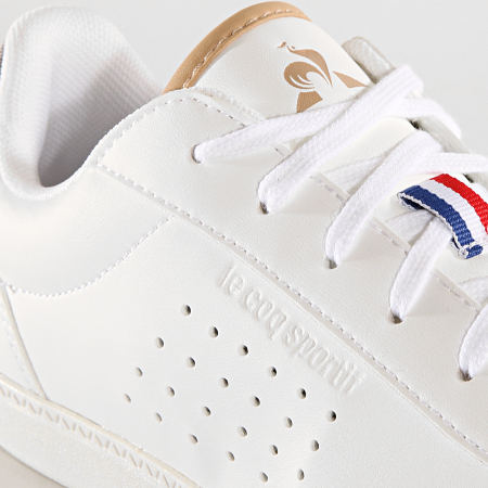 Le Coq Sportif - Baskets Femme Courtstar GS Denim 1920168 Optical White Grey Denim