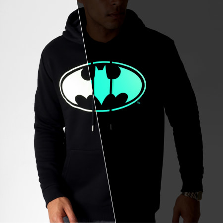 Batman - Sweat Capuche Glow In The Dark Noir
