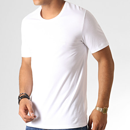 Hugo Boss - Lot De 3 Tee Shirts 50325388 Noir Blanc Gris Chiné
