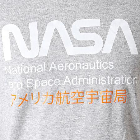 NASA - Tee Shirt Admin 2 Gris Chiné