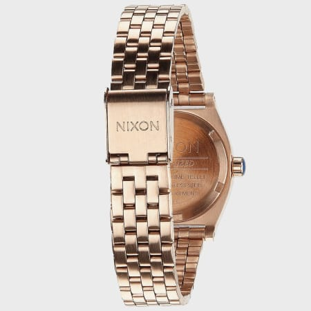 Nixon - Montre Femme Small Time Teller A399-897 All Rose Gold