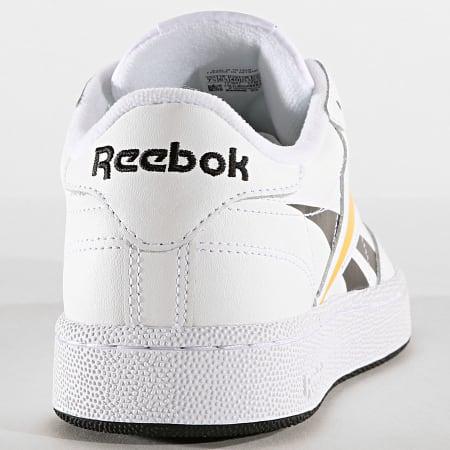 Reebok - Baskets Club C 85 EF8839 White Black Toxic Yellow