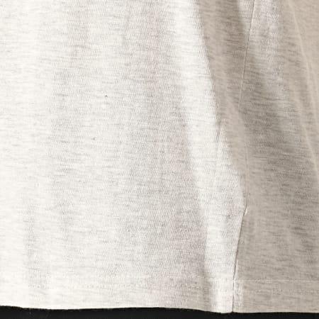 Brave Soul - Tee Shirt Poche Davon Gris Chiné Bleu Foncé