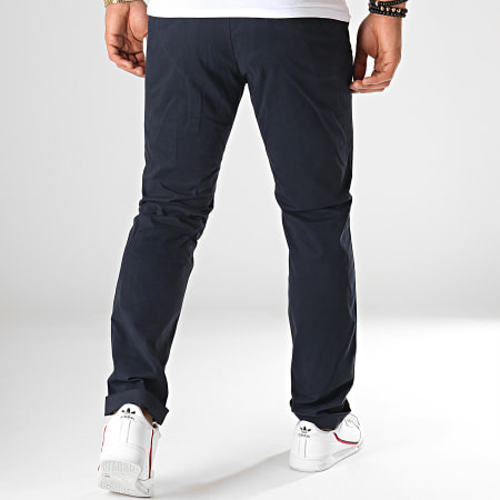 Celio - Pantalon Chino Pobelt Bleu Marine