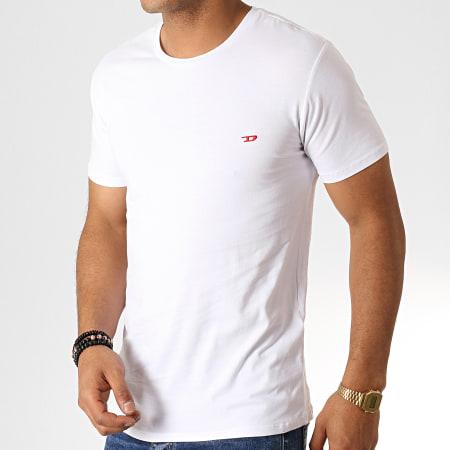 Diesel - Lot de 3 Tee Shirt All Timers Randal 00SJ5L-0WAVC Blanc Noir Gris Chiné