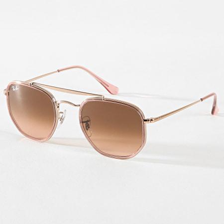 lunettes soleil ray ban femme rose
