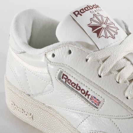 Reebok - Baskets Club C 85 DV8812 Chalk Paperwhite Maroon