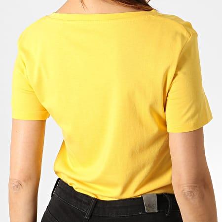 Guess - Tee Shirt Femme W93I91K19U1 Jaune