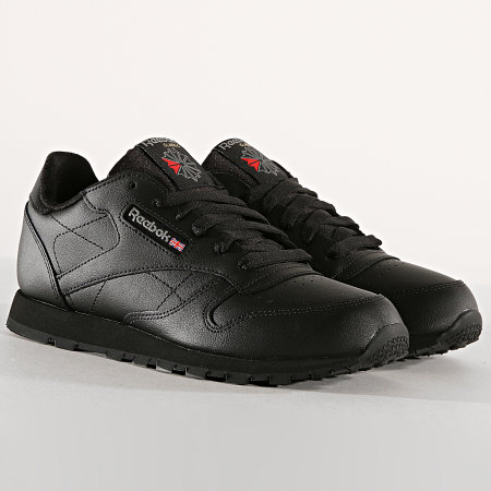 Reebok - Baskets Femme Classic Leather 50149 Black