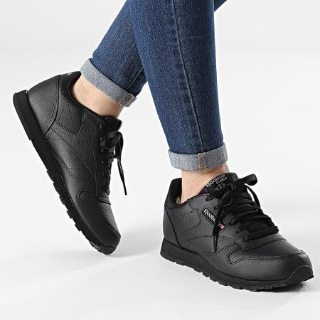 Reebok - Baskets Femme Classic Leather 50149 Black