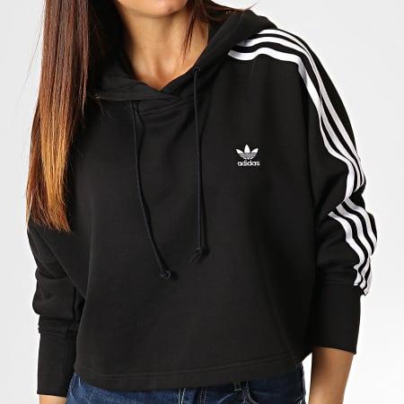 sweat femme avec capuche adidas