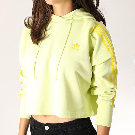 sweat adidas femme jaune