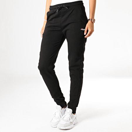 Fila Pantalon de Jogging Femme Noir S: