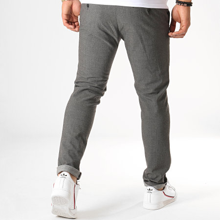 MTX - Pantalon 203 Gris Anthracite Chiné