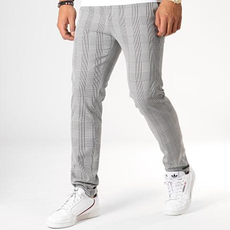 MTX - Pantalon A Carreaux 212 Gris