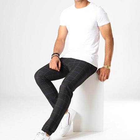 MTX - Pantalon A Carreaux 229 Noir