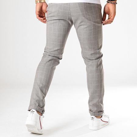 MTX - Pantalon A Carreaux 233 Gris
