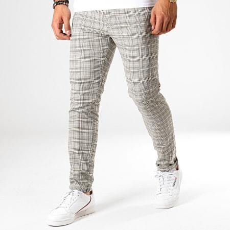 MTX - Pantalon A Carreaux 207 Beige