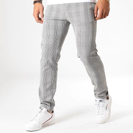 MTX - Pantalon A Carreaux 215 Gris