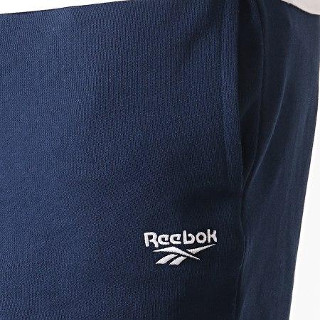 Reebok - Pantalon Jogging Classics EC4531 Bleu Marine Blanc